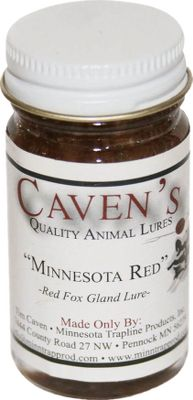 Hunting For nearly 40 years, Cavens Lures have been the gold standard among many trappers and are top producers on the most demanding trap lines in the country. Only select, premium and fresh ingredients go into every custom lure, maximizing attracting power. Made in USA. Size: 1-oz. glass jar. Available: Minnesota Red Extremely thick and heavy gland lure thats extremely attractive to red and gray fox, raccoon and coyote. Canine Force This food/call lure is a potent mixture of food and calling ingredients that brings various predators into your sets. Its powerful calling properties are ideal for cold-weather trapping. Timber One of the most versatile lures on the market, its appealing to beaver, bobcat, fox, muskrat, raccoon, mink and coyotes. Thick waterproof base performs well in rainy conditions or at water sets. Bread and Butter A custom blend of food and calling ingredients and oils produce a piercing sweet odor thats a must when trapping muskrats. This lure has also proven its value when targeting raccoons. Mink Master Strong gland lure combined with essential oils and weasel musk appeals to the minks territorial nature and brings them in. Effective as a change-up predator lure at your flat or post sets. Moonshine Super-sweet food and calling lure thats a combination of select oils in a thick base for effective use in any weather condition. Its an excellent choice when using dogproof traps. Yodel Dog Thick, long-lasting natural gland lure that really stirs up howlers. Called Yodel Dog, its made of glands aged to perfection. Its the answer to post sets, and really dresses u Color: Natural. Type: Baits & Lures. - $7.99