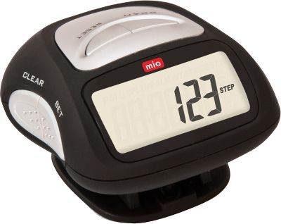 Take a long walk with the Step 2 Pedometer, and itll record your steps, distance, calorie burn, and best of all, itll keep you moving to the beat with its built-in FM radio. Large, angled screen offers easy in-motion viewing and stopwatch capabilities. Program your stride length and weight for personalized accuracy. One-year manufacturer's warranty. - $22.99