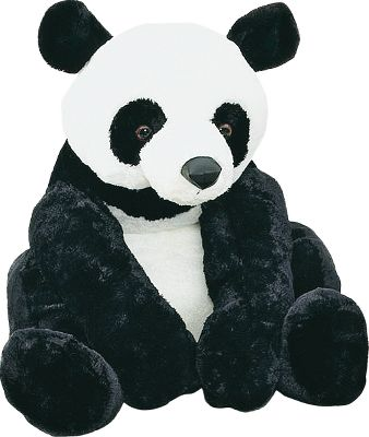 Hunting Filled with character and natural charm, your child will love snuggling with any of these irresistibly soft, super-plush and oversized Wildlife Animals. Imported. Available: Niko Brown Bear, Derby Elephant, Tanner Giraffe, Grandma Butter Bear, Smoky Black Bear, Gansu Panda Bear, Lilly Frog. Color: Natural. - $99.99