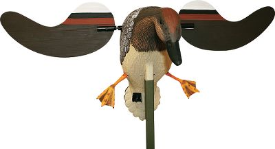 Hunting The popularity of the gadwall makes it an excellent duck-attracting addition to any spread. Magnetically connected, super-fast wings. Second-and-a-half on/off timer. Runs up to 16 hours on four AA batteries(not included). - $79.99