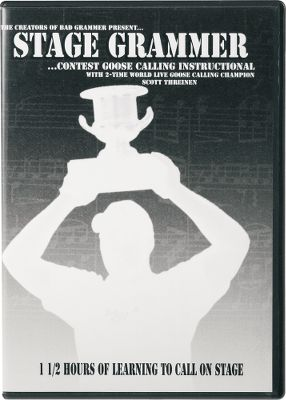 Hunting Learn how a calling contest works, how its judged and how to put a routine together from champion caller Scott Threinen. Covers open contests, two-man contests and live contests. 90 minutes. Type: DVD. - $14.88