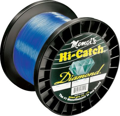 Fishing Momoi's Diamond series lines are constructed with a new formulation that offers tensile strengths up to 200 of stated line tests. It has a tougher finish for greater abrasion-resistance in extreme conditions and delivers exceptional knot strength. Comes in 1,000-yd. spools. Available: 12, 16, 20, 30, 40, 50, 60, 80, and 100-lb. test. Color: Blue. Color: Blue. Gender: Male. Age Group: Adult. Type: Saltwater MonFilament Lines. - $45.99