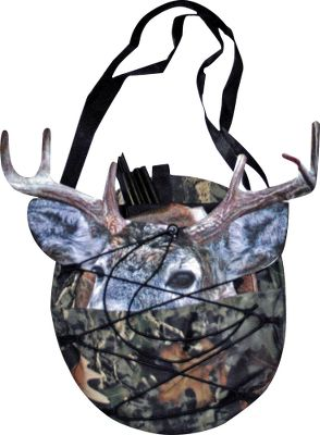 Hunting The Decoy Carrier is a convenient way to store or carry up to three Montana Decoys at once. Elastic strap and drawstring system holds decoys securely. Equipped for over-the-shoulder, backpack or belt/pack loop carry. - $19.99