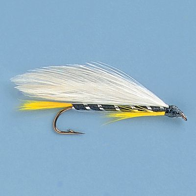 Flyfishing The Black Ghost, with its black body and white wing offset by the shimmer of tinsel, is sure to produce hard strikes from large trout. It represents a large variety of baitfish. Per 3. Sizes: 6, 8, 10. Color: Black. Type: Streamers. - $4.39