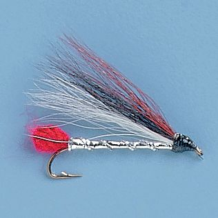 Flyfishing With its black lateral line, this fly resembles the dace baitfish. This pattern is very productive for browns and rainbows but really shines for brookies. The pattern is tied with bucktail wings and a tinsel body. The Black Nose Dace can be fished in typical streamer fashion with a floating line, sinking tip for a intermediate depths, or on a full sinking line for deep waters. Per 3. Sizes: 6, 8, 10. Color: Black. Type: Streamers. - $4.39