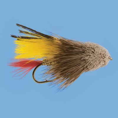 Flyfishing The Marabou Muddler series of flies has taken the standard Muddler Minnow design and added a marabou wing for added movement and realism. Per 3. Sizes: 4, 6, 8. Colors: (003)Black, (004)Yellow, (007)White. Color: Yellow. Type: Streamers. - $4.99