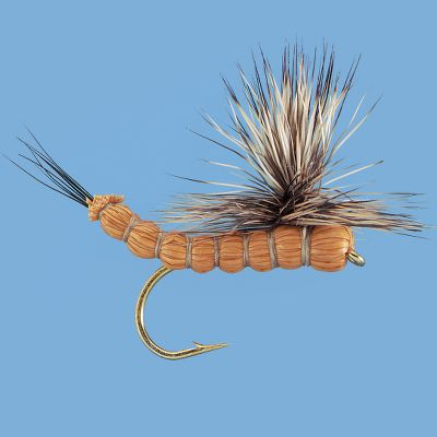 Flyfishing This adult mayfly imitation has a highly realistic profile and sits on the water just like the natural. The hair body provides excellent flotation. Per 2. Sizes: 8, 10, 12. Color: Brown. Color: Brown. Type: Dry Flies. - $3.99