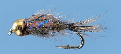 Flyfishing The Hare's Ear is a standard in almost every trout fisherman's fly box and the Sparkle Back Hare's Ear should be too. Its flashy back is highly attractive to trout. Per 2. Sizes: 12, 14, 16. Type: Wet Flies. - $3.79