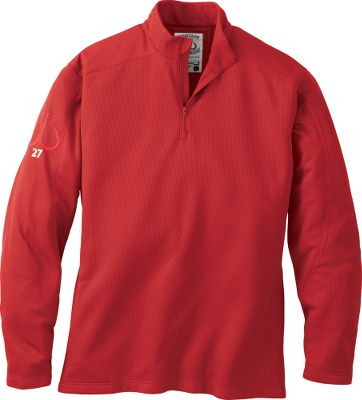 Performance MTCdryprotect heavyweight fabric is lined with super-soft fleece to keep you warm for layering or stand-alone wear. The fabric wicks moisture away from the skin for quick-drying comfort and has an antimicrobial treatment for odor prevention. UPF rating of 50 blocks harmful UV rays. 1/4-zip neck provides added ventilation. One zip-close security pocket. Hidden zipper at neck. 100% polyester. Made in USA.Sizes: M-2XL.Colors: Harbor Green, Sky Blue, Nautical Red. - $19.88