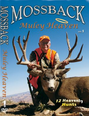 Hunting In the Mossback Muley Heaven DVD series, the Mossback team puts the hammer down on some of America s most incredible muleys. Available: Muley Heaven 1 contains 12 hunts in the western high ranges. 75 minutes. Muley Heaven 2 takes you on 15 hunts in Utah, Nevada, Arizona and New Mexico. 75 minutes. Muley Heaven 3 captures 23 exciting archery, rifle and muzzleloader hunts in Utah, New Mexico and Nevada. 90 minutes. - $12.99