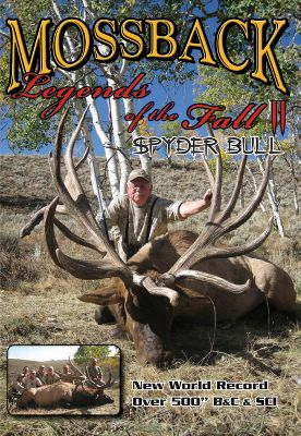 Hunting Own the best MossBack elk-hunting DVDs to date. Both of these action-packed videos will get your heart pumping with hunting footage of legendary monster bulls. Available: Legends of the Fall II Denny Austad and Team MossBack hunt down the great Spyder bull a new world record, 500 gross BC/508 SCI. Watch as three archery bulls over 370 Pope Young go down in one day. NBA star Shawn Bradley goes in search of a bruiser. 20+ hunts. 112 minutes. - $7.88