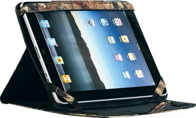 Keep your iPad protected on your wilderness adventures or dress it up with outdoor attitude around town. Decked out in Mossy Oak camo, this protective portfolio-style cover helps guard your iPad from the rigors of travel and everyday life. Compatible with the iPad, iPad 2 and Third Generation iPad.Camo pattern:Mossy Oak Break-Up Infinity Type: Cases. - $23.99