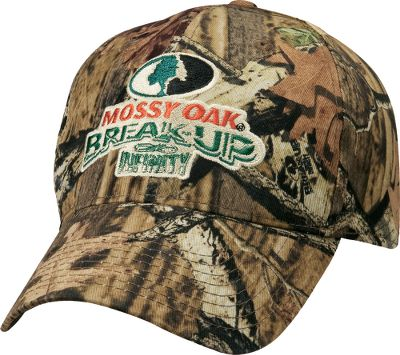 Hunting A lightweight hunting cap in one of today's hottest camo patterns. Embroidered logo. Imported. One size fits most. Camo pattern: Mossy Oak Break-Up Infinity . Size: ONE SIZE FITS MOST. Color: Mo Break-Up Infinity. Gender: Male. Age Group: Adult. Pattern: Embroidered. Type: Caps. - $16.88
