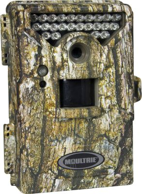 Hunting Versatile game camera delivers high-resolution images and video day or night. Set it up as a standard IR-triggered game camera or use the Plot Stalker setting to capture images at preset intervals to capture up to 3,600 pictures a day. Use the included Plot Stalker software to stitch the images into a high-definition video and view an entire days worth of activity in minutes. You can program the camera to activate at preset intervals or when triggered by passing game. Enjoy up to 6MP resolution and a nighttime operational range of 50 ft. Select one of four settings for image resolution and choose between two video-resolution options. The internal sensor delivers exceptionally bright, clear infrared pictures at night. FastFire Continuous Shooting mode captures up to three photos per second with picture delay options of five, 15 and 30 seconds over one to 60 minutes. Easy-to-read photo strip displays date, time, moon phase, temperature and camera ID. An SD-card slot accommodates memory cards up to 32GB (SD card required for camera operation, card not included). Operates on four or eight AA batteries (not included). Comes with weather-resistant camo casing and mounting strap.Dimensions: 5-1/2H x 4-1/2W x 3D. - $119.88