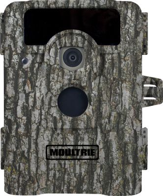 Hunting With a 90 wide-angle view and 16:9 widescreen images and video, this little guy is your eyes and ears on your favorite hunting ground or food plot. Captures 8MP photos and HD video with sound, day or night, up to 60 feet out. IR flash reduces the amount of red light seen by game as well as prolongs the flashs duration without sacrificing quality. Illumi-Night sensor works with the infrared flash to produce brighter, clearer nighttime images. FastFire shooting mode captures an impressive 10 pictures per second. Motion-freeze blur reduction makes images even clearer. SD memory-card slot holds up to a 32GB card (not included). Every photo can be imprinted with barometric pressure, moon phase, temperature, time, date and camera ID. Password protected for peace of mind. Runs on six C batteries. Camo casing. Dimensions: 6H x 4.5W x 3.5D. Color: Red. Type: Infrared. - $134.88