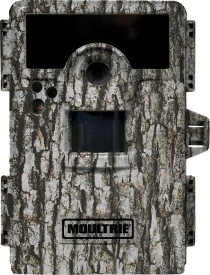 Hunting Infrared game camera that delivers big pictures, quick response time and an easy way to bring trail activity to life. The M-990i delivers crisp, high-resolution 10MP pictures and HD video with clear sound, day or night, so you know exactly what game is in your area or feeding at your plot. FastFire shooting mode captures four pictures per second with a trigger speed of less than one second. The infrared flash reduces the amount of red light seen by game as well as prolongs the flashs duration without sacrificing quality. An Illumi-Night sensor works with the infrared flash to produce brighter, clearer nighttime images. Use time-lapse mode to capture activity over the course of a day to figure out when wildlife is the most active. 16:9 widescreen images and photos are easy to see on the built-in 2 LCD viewing screen. Look even closer at captured images with the digital 3X-zoom function. Every photo can be imprinted with the barometric pressure, moon phase, temperature, time, date and camera ID for added accuracy. Password protected for peace of mind. SD memory-card slot accepts up to 32GB card (not included). Runs on eight AA batteries (not included). Camo casing.Dimensions: 5H x 3.75W x 3D. Type: Infrared. - $199.99