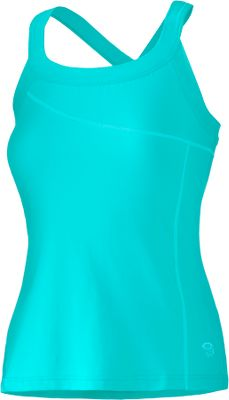 Surf A flattering scooped neckline and crossback straps offers style and support, making it great for workouts or any outdoor activity. Made of 91/9 organic cotton/elastane jersey for softness and stretch. Flat-lock seams eliminate chafing. Built-in shelf bra. Imported.Sizes: S-XL.Colors: Espresso, Greenery, Reef, Wisteria. - $9.88