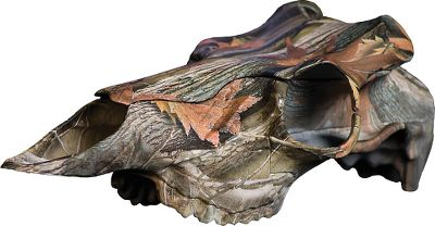 Hunting Give your treasured whitetail or mule deer antlers the showcase they deserve. This unique camo-finished mounting kit utilizes the latest digitizing techniques and injection-mold-making processes to create a truly universal reproduction European skull and plate. Its perfect for harvested and naturally shed whitetail and mule deer antlers of any diameter. Extremely easy to use, it saves time and money over other mounting techniques. No more boiling and bleaching. Now you can remove your antlers and leave the skull in the field. The kit includes medium and large interchangeable antler-mounting top sections and antler-mounting screws. Made in USA. Color: Camo. - $59.99