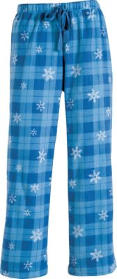 Hunting These warm, cozy, and cuddly bottoms are made of 100% polyester microfleece. Imported. Sizes: S-XL. Colors: Berry Girly Camo, Berry Snowflake Plaid, Blue Snowflake Plaid, Lavender Moose, Plum Snowflake Plaid, Red Deer Flakes. Size: LARGE. Color: Berry Snwflake Plaid. Gender: Female. Age Group: Adult. Pattern: Plaid. Material: Polyester. - $19.99