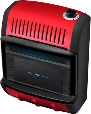 Camp and Hike Put this indoor-safe, vent-free, wall-mount propane heater to the test and enjoy warmth while ice fishing, at the cabin or heat any room up to 200 sq. ft. This blue-flame heater boasts an impressive 10,000-BTU output. It also features an automatic low-oxygen shut-off and an adjustable room thermostat. Includes a 10-foot hose that connects to an outdoor-stationed propane cylinder (not included). CSA certified. Recommended for use at altitudes below 4,500 feet.Cannot be sold in California, Massachusetts or Canada. - $159.99