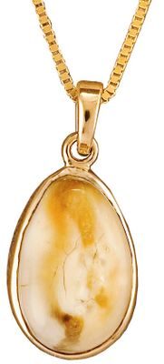 Entertainment The North American elk has a special pair of teeth called buglers, whistlers or tusks. These rare and beautiful canines are a treasured kind of ivory. Displayed within a 10-kt.-yellow gold bezel pendant and hung on a 10-kt.-gold box chain, your authentic elk ivory pendant will be the focal point of any outfit. Includes a wooden box. Made in USA. Chain length: 18. Pendant dimensions: 7/8H x 3/8W. Color: Ivory. Gender: Female. Age Group: Adult. Type: Necklaces. - $391.99