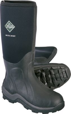 Hunting Rugged, snow- and ice-treading durability for the most punishing winter conditions. CR flex-foam booties with a four-way stretch nylon overlays for 100% waterproof performance thats lighweight and flexible for easy-walking comfort. Cold-blocking 2mm thermal foam underlays in the instep areas preserve body heat. Breathable, moisture-wicking Airmesh linings for high-activity, all-day dryness. Step-cushioning EVA midsoles with ergonomic, contoured footbeds. Calf-hugging stretch-fit bindings seal in warmth. Double reinforcement in the insteps, heels and Achilles areas for long-lasting wear resistance. Aggressive MS-1 outsoles provide all-terrain stability and traction. Toe caps with wrap-up bumpers. Imported. Comfort range: -40 to 60 Average weight: 4.70 lbs./pair. Height: 15. Color: Black. Size: 9. Color: Black. Gender: Unisex. Material: Nylon. Type: Boots. - $159.99