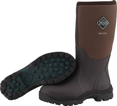Hunting Built on a womens-specific last, these waterproof boots deliver the custom comfort youd expect from Muck boots. The 5mm CR flex-foam booties with four-way stretch nylon are waterproof, lightweight and flexible. Stretch-fit topline bindings snug to calves, sealing in warmth and sealing out cold. Diamond-textured toe and heel reinforcements resist scuffs and scratches. Additional achilles reinforcements and wrap-up toe bumpers for protection. Rugged, durable rubber outsoles are contoured to fit a womans foot and ensure all-around traction. Comfort range from -20F to 70F. Imported. Womens whole sizes: 6-10. Color: Bark. Size: 6. Color: Brown. Gender: Female. Age Group: Adult. Material: Nylon. Type: Boots. - $134.99