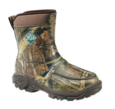 Hunting Built with a classic bird-hunting profile, the Uplander HG Hunting Boots deliver maximum weather protection, terrain-tackling performance and all-day comfort. Breathable Airmesh linings wick moisture for dry comfort. 5mm CR flex-foam booties with four-way-stretch nylon are 100% waterproof, lightweight and flexible. Quick-clean rubber overlays and snug, ankle-fit lasts add durable structure. Wrap-up toe bumpers ensure excellent toe protection. Molded rubber Speed-Tracker outsoles and EVA midsoles combine for foot-supportive comfort and ground-gripping traction. Imported. Active comfort range: subfreezing to 85F. Height: 10.Average weight: 3.79 lbs./pair. Mens whole sizes: 7-15. Camo pattern: Mossy Oak Break-Up Infinity. - $164.99