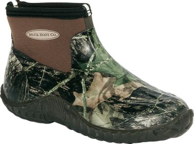 Hunting Muck makes extreme boots for extreme field conditions, and is known for premium rubber boots. The Camo Camp boots are the perfect choice for light work or lounging around the club after a morning hunt. They are 100% waterproof, have a Trac-Trol tread design for enhanced traction, above-the-ankle CR flex-form booties and breathable Airmesh linings. Imported. Men's whole sizes: 8-13. Camo pattern: Mossy Oak Break-Up. Size: 11. Color: Camouflage. Gender: Male. Age Group: Adult. - $59.88