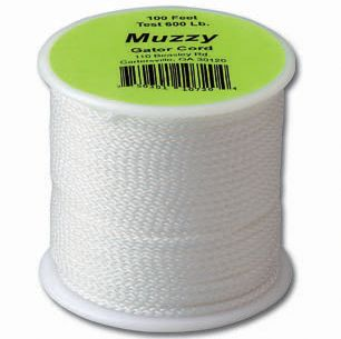 Hunting 100 ft. of strong, 600-lb. Muzzy Gator Cord made of braided Spectra line to subdue the biggest carp, gar or dogfish. Comes off the spool smooth and easy. Won't rot or mildew. Color: White. Type: Bowfishing Line & Guides. - $26.99