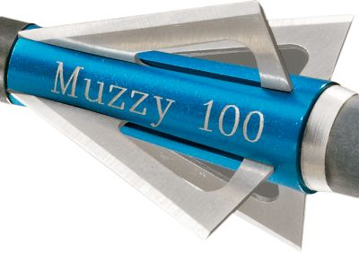 Hunting It is an established fact that field points and broadheads fly differently. For absolute precise accuracy in the field, practice with broadheads is essential. Muzzy provides practice blades that will match the flight of a normal hunting broadhead without the sharp edge of a hunting blade, preventing injury during practice. Muzzy practice blades are shipped in packages of 12 blades, enough to equip three 100-grain Muzzy 4-Blade broadheads. Size: 100-grain. Color: Gray. Type: Practice Broadheads. - $8.88