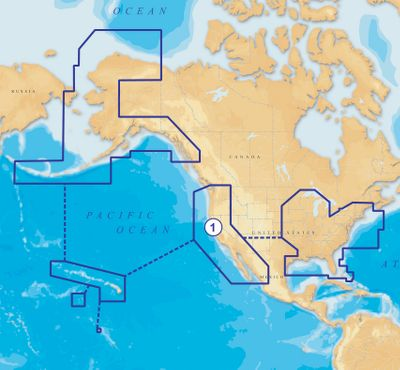 Fishing Navionics Gold 1XG USA marine charts include comprehensive 2D charts of all US coastal areas, the Great Lakes and all major rivers. It provides detailed navaids, tides and currents, water depth, wrecks, rocks, marinas and port services. Easy-to-use cartographic reference features interactive displays that allow you to consult port plans, select safety depth contours and access marine services. Register for one year of free Freshest Updates and community edits. Color: Gold. - $159.99