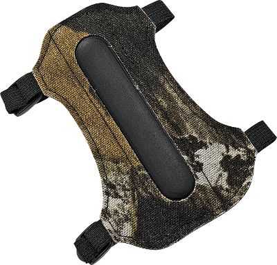 "Hunting This reinforced mini-guard is designed for the smaller archer and protects them from the occassional string slap that occurs as archers are learning to shoot. It has adjustable elastic straps and measures 5-3/8"".Color/Camo pattern: Blue, Mossy Oak Treestand . - $9.88"