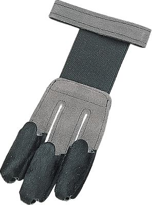 Hunting This shooting glove features a suede leather back with calf hair tips for a smooth, quiet release. An elastic back insert and a Velcro fastener ensure a comfortable, secure fit. Fits right- or left-hand. Sizes: S-XL. Type: Archery Gloves/Tabs. Size Small. - $12.88