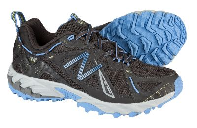 Fitness Sleek, lightweight, modern trail design ensures cushioned stability on all types of terrain. N-Fuse technology and injection-molded EVA for cushioned comfort. Lightweight, breathable synthetic/mesh uppers. All-terraintread. Imported. Womens sizes: 6-11 B width; 7-10 D width. Half sizes to 10.Colors: Black/Blue, Grey/Teal. - $49.88