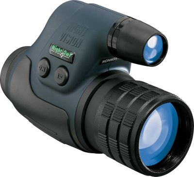 Hunting A first generation monocular that has an ambient light magnification of 500 times. The powerful, infrared illumination allows you to see things normally undetected by the human eye during the night. One-hand operation makes this unit extremely easy to use. All glass optics. 24mm objective lens. - $179.99