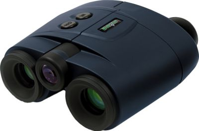 Hunting These fixed-focus binoculars feature premium performance wrapped in an attractive soft-touch rubberized finish for a sure grip and comfortable handling. Impact-resistant molded thermoplastic lens housing adds an extra measure of protection. Built-in infrared illuminator provides clear and bright viewing in complete darkness. High-quality, all-glass objective and ocular lenses with 2X magnification and 160-ft. at 200-ft. range will get you up-close and personal. Unique stringer system for precision and control. Requires CR-123 3-volt lithium battery (not included). Color: Clear. Type: Night Vision Bi-oculars. - $449.99