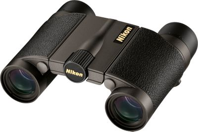 Hunting Nikon has a complete line of optics Some of the most highly acclaimed optics in the world, Nikon Compact Premier 8x20 Binoculars are engineered to deliver supreme performance in extreme conditions. These compact models have a wide field of view for their size, yet they also focus easily on close-range objects. Their silver-coated prisms are phase-correction coated for enhanced resolution and fully multicoated for bright, vivid sight pictures. Nikons Field-Flattener Lens System provides crystal-clear edge-to-edge viewing. The lightweight magnesium-alloy body has a rubber-armored coating for extra shock resistance and an all-weather grip. Its also nitrogen-filled and O-ring sealed for waterproof, fogproof performance. Click-adjustable sliding rubber eyecups are extremely compatible with eyeglasses. - $529.99