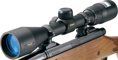 Hunting Built with the same image-enhancing technology used in higher-end Nikon scopes, the PROSTAFF series offers feature-loaded value and the highest light transmission levels in its class. These hardworking scopes also boast larger eyepieces which provide an extra-wide field of view. 3X zoom provides detailed images. Fully multicoated lenses have layer-upon-layer of anti-reflective compounds for producing vivid, bright sight pictures. Fast-focus eyepiece fine-tunes sight pictures for optimal clarity at any range. Type: Riflescopes. - $149.99