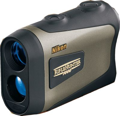 Hunting Nikon has a complete line of optics Speed, accuracy and simple operation team with angle-compensating displays for confidence when shooting long range on up or down inclines. No need to guess ranges and hold overs. Large ocular lens results in wider field of view so you can locate and range targets faster. Bright, multicoated, waterproof and fogproof optics with 6X magnification. Displays in 2/10-yd. increments out to 999 yds. Active brightness control viewfinder automatically adjusts display and reticle to target color for optimal readability. Automatically powers off after 8 seconds of inactivity to conserve battery life. Easy single-button operation. Type: Rangefinders. - $349.99