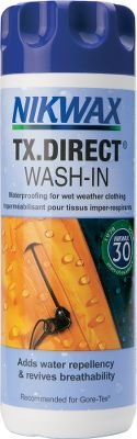 Restore the waterproof, breathable qualities of your technical shells and performance outerwear with this easy-to-use solution. The wash-in treatment ensures the garment is completely immersed for treatment of every pocket, seam and fabric pore. Recommended for use with waterproof, breathable and water-resistant garments. Not recommended for use on moisture-wicking or absorbent liners. 10-fl.-oz. bottle. Size: NO CHOICE. Color: Purple. Gender: Male. Age Group: Adult. Type: Cleaner. - $8.79