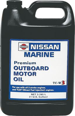 Motorsports Specially formulated for use in Nissan outboards, this all-new motor oil contains additives to control carbon deposits, prevent rust and prolong spark plug life. Designed for use in premix systems at a ratio of one pint to six gallons of gasoline and in variable-ratio oil injection systems where fuel/oil premixing is not required.Available: Quart, Gallon, Premium 4-Stroke Oil(Quart). - $4.88