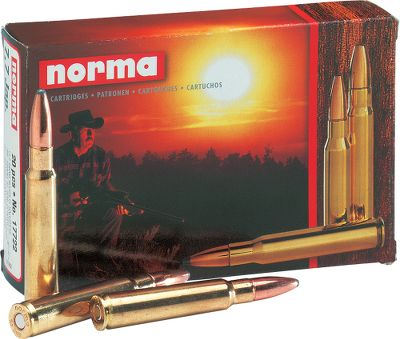 Hunting For more than 100 years, hunters and shooters alike have relied on Norma for ammunition that consistently delivers superior accuracy and hard-hitting in-the-field performance. Today, nothing has changed. Loaded with a variety of premium bullets including Swift A-Frame, Nosler Ballistic Tip and their own bonded Oryx which consistently produces 90% to 100% weight retention at any velocity, it is the perfect choice no matter what size game youre hunting, small. Per 20. Bullet Weight: 120 Grain. Type: Centerfire Rifle. Caliber: 6.5x55. Bullet Type: NBT. Cal/Gaug 6.5x55 120gr Nbt. - $42.99