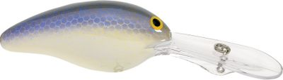 "Fishing Offer stubborn fish something different with this silent, deep-diving crankbait. This rattleless lure shows itself to fish before they hear it, for a more subtle approach. Runs at depths of 15 to 18 ft. Lure coating provides optimal flash and reflection. Durable gelcoat finish resists wear. Made in USA.Size: 3"", 5/8 oz.Colors: (133)Lavender Shad, (147)Tennessee Shad (not shown), (177)Rootbeer, (181)Chartreuse Blue, (191)SX Shad Chartreuse, (201)Jelly Bean, (253)Red Ear, (262)Nutter Shad, (269)SX Shad, (294)Chartreuse Shad. - $3.88"