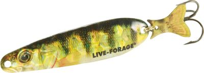 "Fishing It features a sparkling, holographic FlashFoil body with a HD Fish-Photo-Image pattern for the ultimate in baitfish imitation. Its metal KickerTail Fin flashes, kicks and clatters as the lure wobbles and flutters, making it simply irresistible when trolling for salmon, trout, walleyes and more. Per each.Sizes: 2-3/4"", 3-1/2"", 4-1/4"", 5"". Colors: (013)Smelt-Glow, (023)Perch, (051)Herring, (052)Alewive. - $3.88"