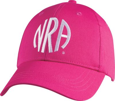 This classic ball cap bears the iconic embroidered NRA logo, all the better to show your outdoor enthusiasm and pride. Velcro closure. 100% cotton. One size fits most. Imported. Color: Fuschia. Type: Caps. Size: One Size Fits Most. Color: Fuschia. Size One Size Fits Most. Color Fuschia. - $9.88