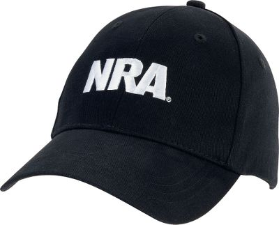 Guns and Military This NRA Series Logo Cap is a must-have for NRA supporters. Six-panel, 100% cotton, medium-profile cap has a Velcro closure for a custom fit. Iconic NRA logo embroidered on the front. One size fits most. Imported. Colors: Black/Red, Black, Navy. Size: ONE SIZE FITS MOST. Color: Navy. Gender: Male. Age Group: Adult. Pattern: Embroidered. Material: Cotton. - $8.88