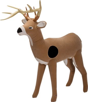Hunting There is no better practice for young hunters than realistic 3-D targets. This Inflatable Deer Target has a hook-and-loop vital area. For use with Sportsman Shooting Toys foam projectiles. 4-ft. tall. Type: Shooting Toys 3-D Deer Target. - $29.99