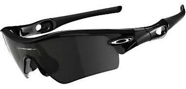 Hunting These performance sunglasses have a three-point fit with Unobtanium sleeves for increased grip. Plutonite, Oakleys proprietary polycarbonate lens material, inherently blocks 100% of all UVA, UVB, UVC and harmful blue light. Durable, lightweight Plutonite polycarbonate provides startling optical clarity with Oakleys High-Definition Optics and protection against high-mass and high-velocity impact, exceeding the ANSI Z87.1 performance requirements of the American National Standards Institute. A Hydrophobic permanent coating maintains a smudge-resistant barrier against skin oils, lotions and sunscreens, and it even repels dust. Available: Grey Lens/Polished Black Frames. Color: Black. Gender: Male. Type: Non Polarized. - $96.00