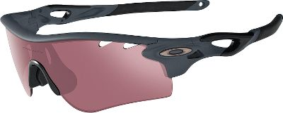 Hunting From athletes to anglers, Oakley Radarlock Path Sunglasses have you covered with easily interchangeable lenses. Switchlock technology makes matching light conditions as easy as pushing a button. The frame is composed of lightweight O Matter, a rugged material that withstands rigorous use. High Definition Optics enhanced with Polaric Ellipsoid geometry provides razor-sharp vision all the way to the lens periphery. Plutonite lenses filter out 100% of UVA, UVB, UVC and harmful blue light. Unique lens curvature opens up your peripheral view and provides further protection from sun, wind and impact. Ear sleeves and interchangeable nose pads are made of Oakley Unobtainium that increases its hold when wet. Three-point fit secures the glasses and eliminates pressure points for long-term comfort. Comes with two sets of lenses for a wide range of light conditions. Also includes a soft vault case, two sizes of nose pads and a Microclear bag for cleaning and storage. Meets ANSI Z87.1 impact standards. Size: M/L. Color: King's Woodland Camo. Gender: Male. Type: Non Polarized. - $240.00